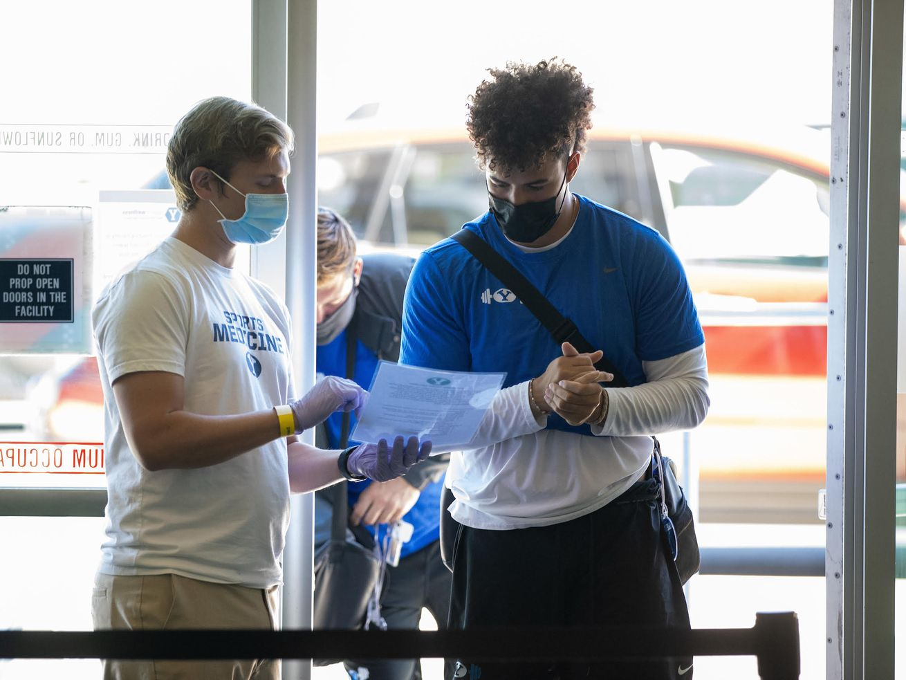 'It is really quite simple' — BYU football players describe screening process for COVID-19