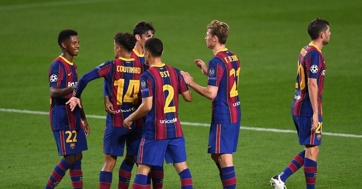 Barcelona Beat Ferencvaros