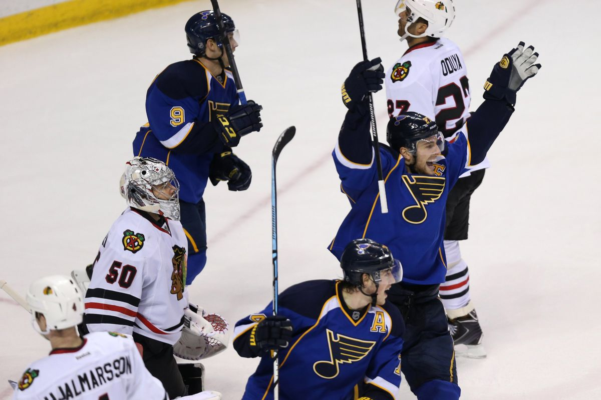 Chicago at St. Louis, Game 2