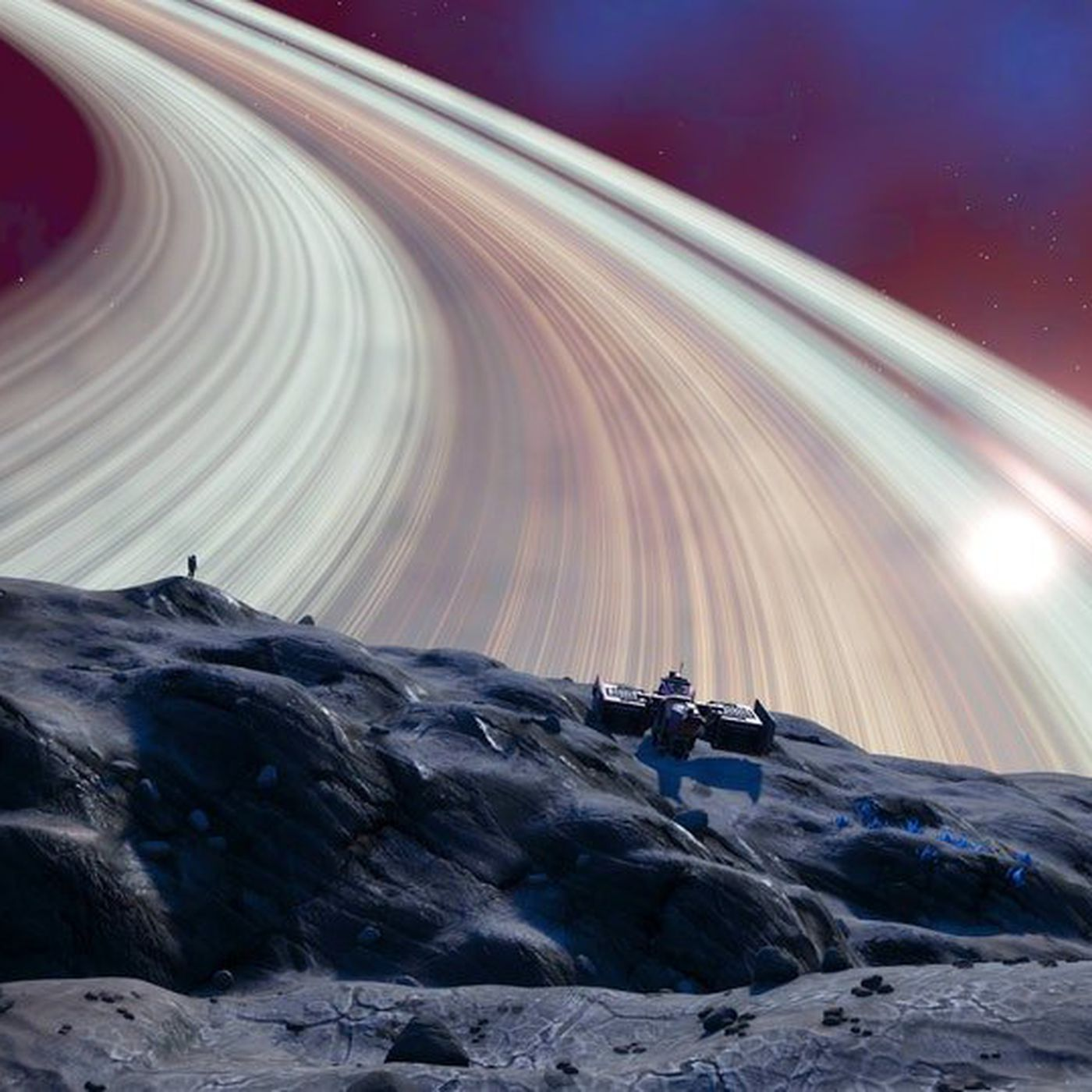 Flying in No Man's Sky is beautiful now, but not that easy with