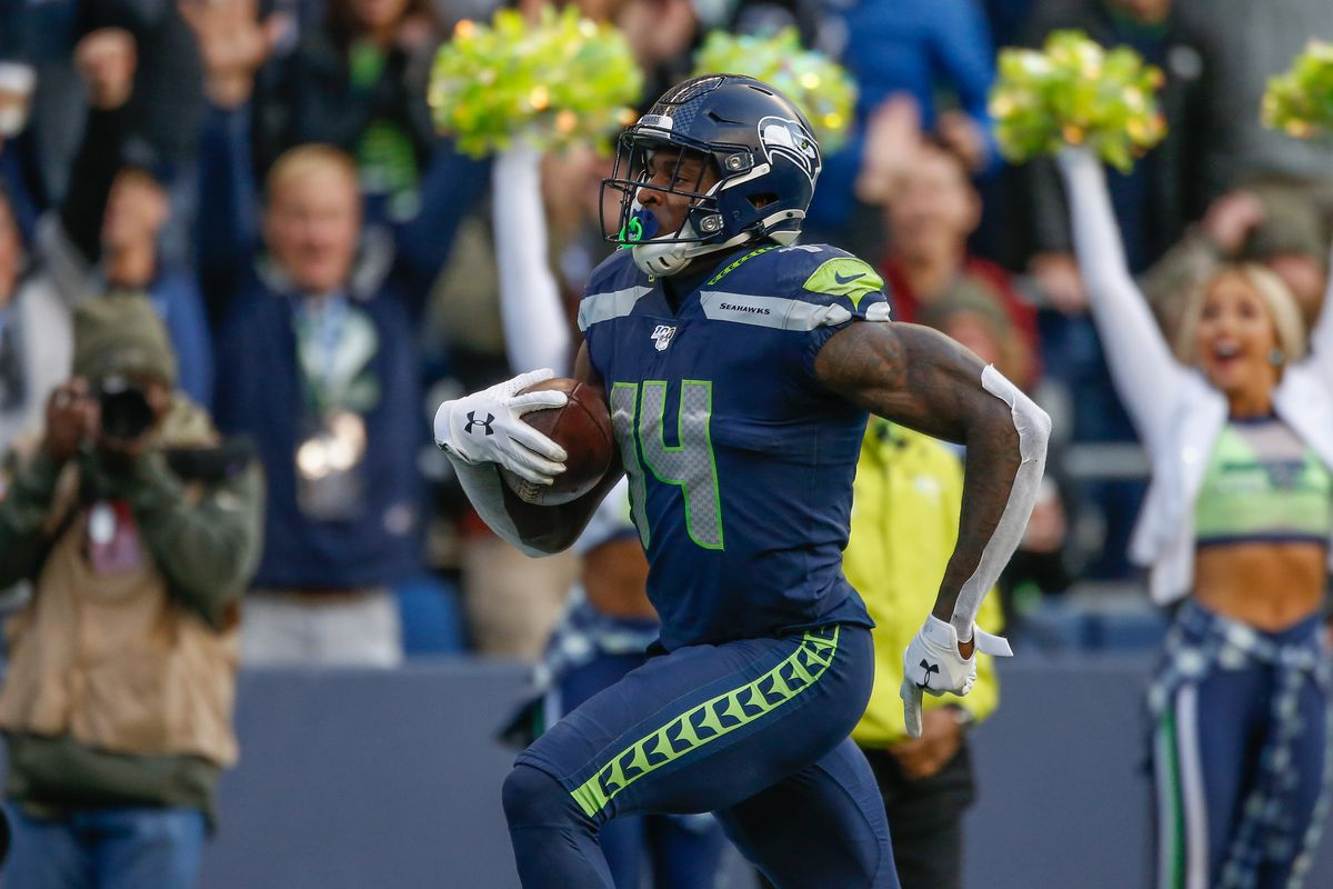 Seattle Seahawks Wr Dk Metcalf Is On The Path To Stardom Field Gulls