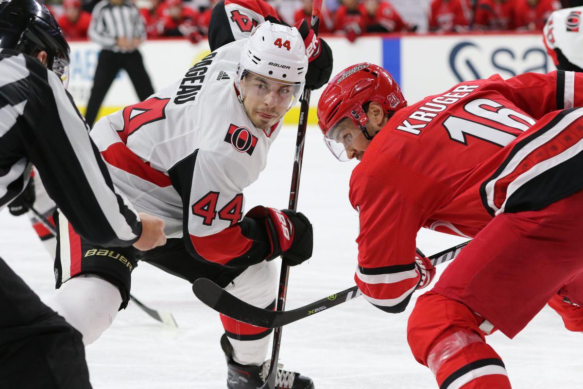 NHL: JAN 30 Senators at Hurricanes
