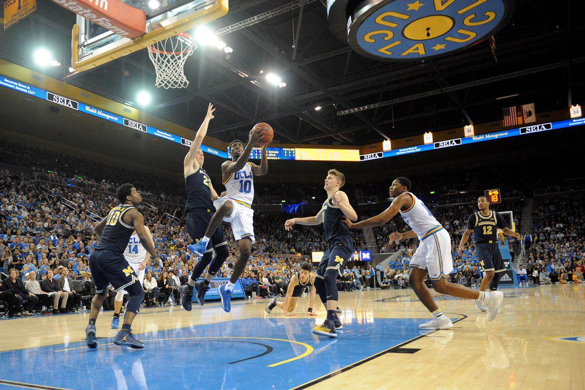 NCAA Basketball: Michigan at UCLA