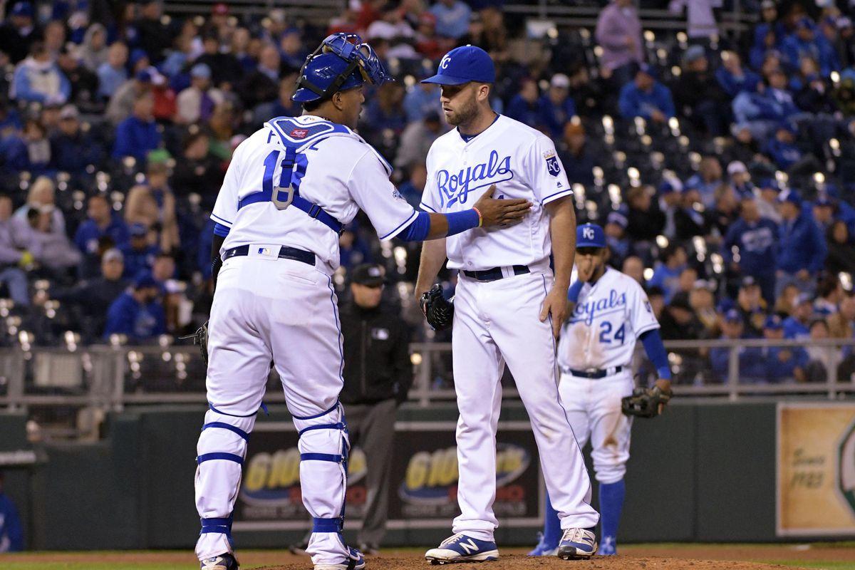 MLB: Washington Nationals at Kansas City Royals