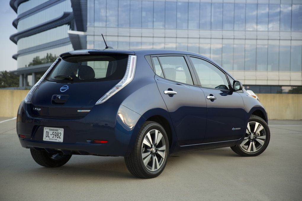 the 2016 nissan leaf can take you 107 miles on a single. Black Bedroom Furniture Sets. Home Design Ideas