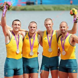 Aussie rowers foure: Photo by Harry How/Getty Images