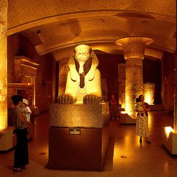 """<b>5)</b> <a href=""""http://www.penn.museum/long-term-exhibits/egypt-sphinx-gallery.html"""">University of Pennsylvania Museum of Archaeology and Anthropology, Sphinx Gallery</a><br>  <b>Location:</b> 3260 South Street<br> <b>Photography cost:</b> <a href=""""h"""