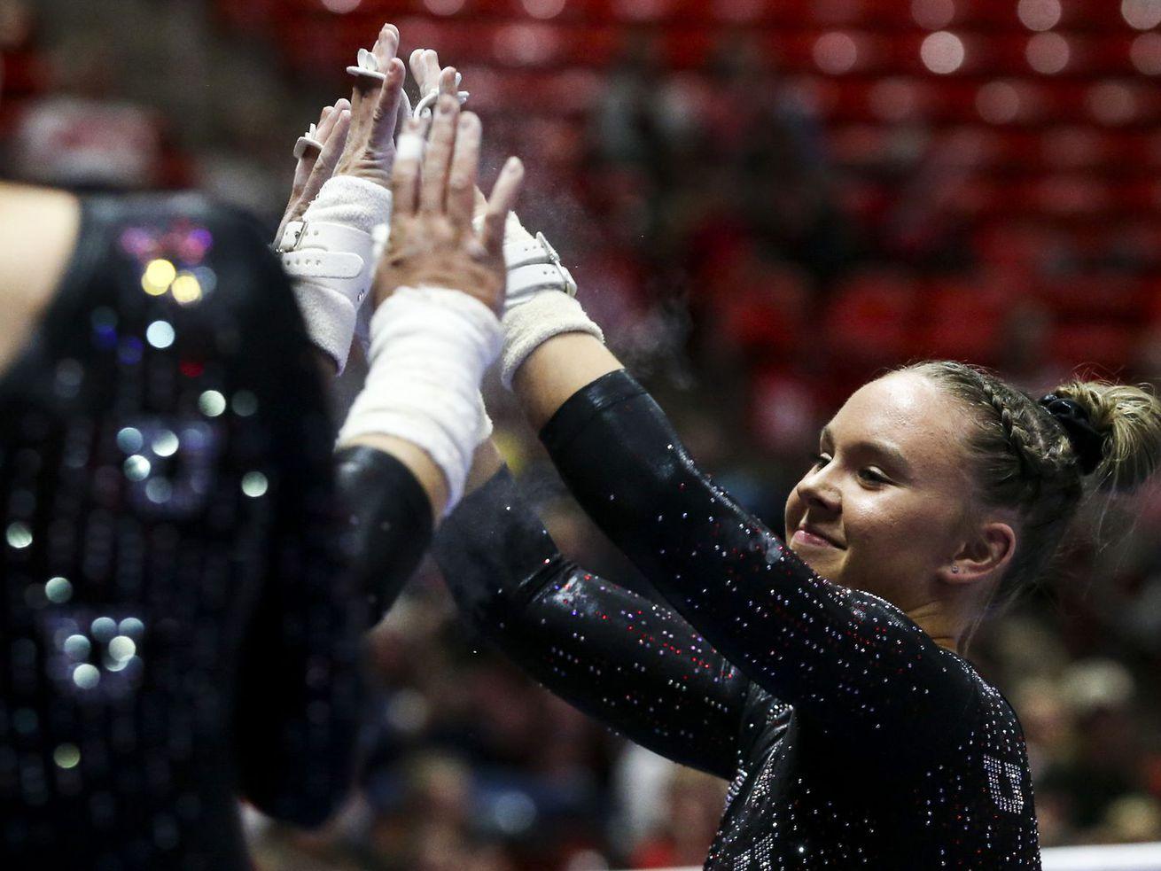 'Stunner' of a beam routine earns Utah gymnastics' Maile O'Keefe Pac-12 Freshman of the Week honors