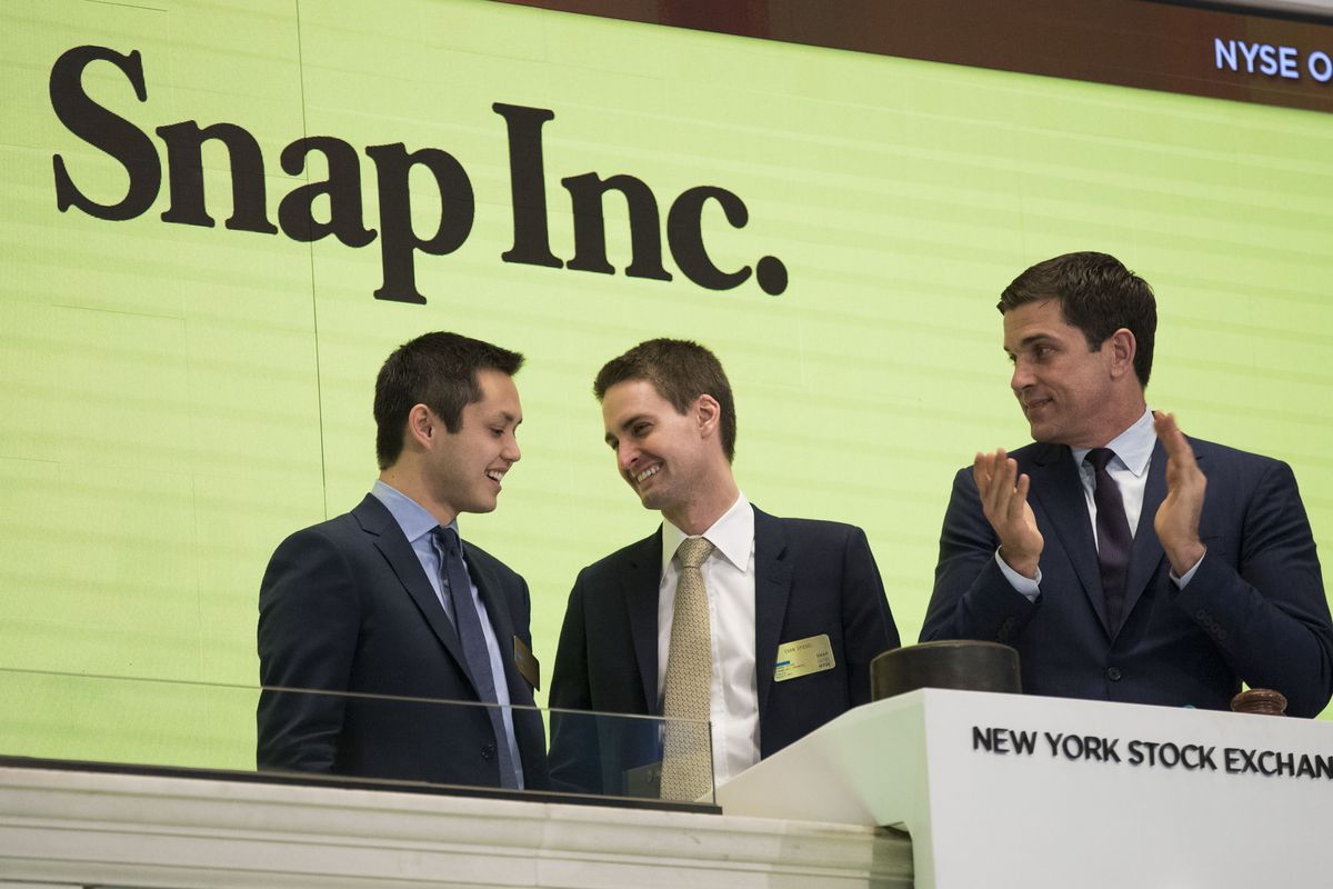 Snapchat parent Snap began trading on the stock market just over a year ago.