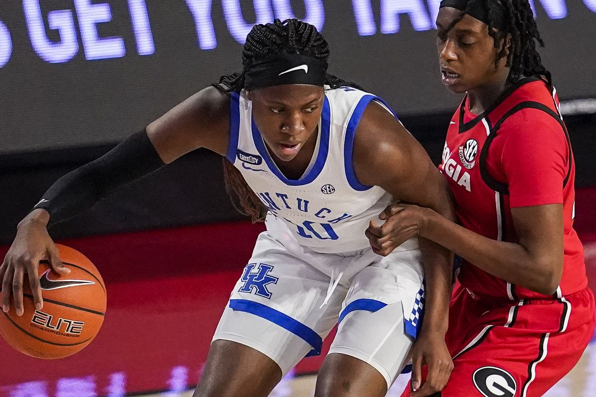 NCAA Womens Basketball: Kentucky at Georgia
