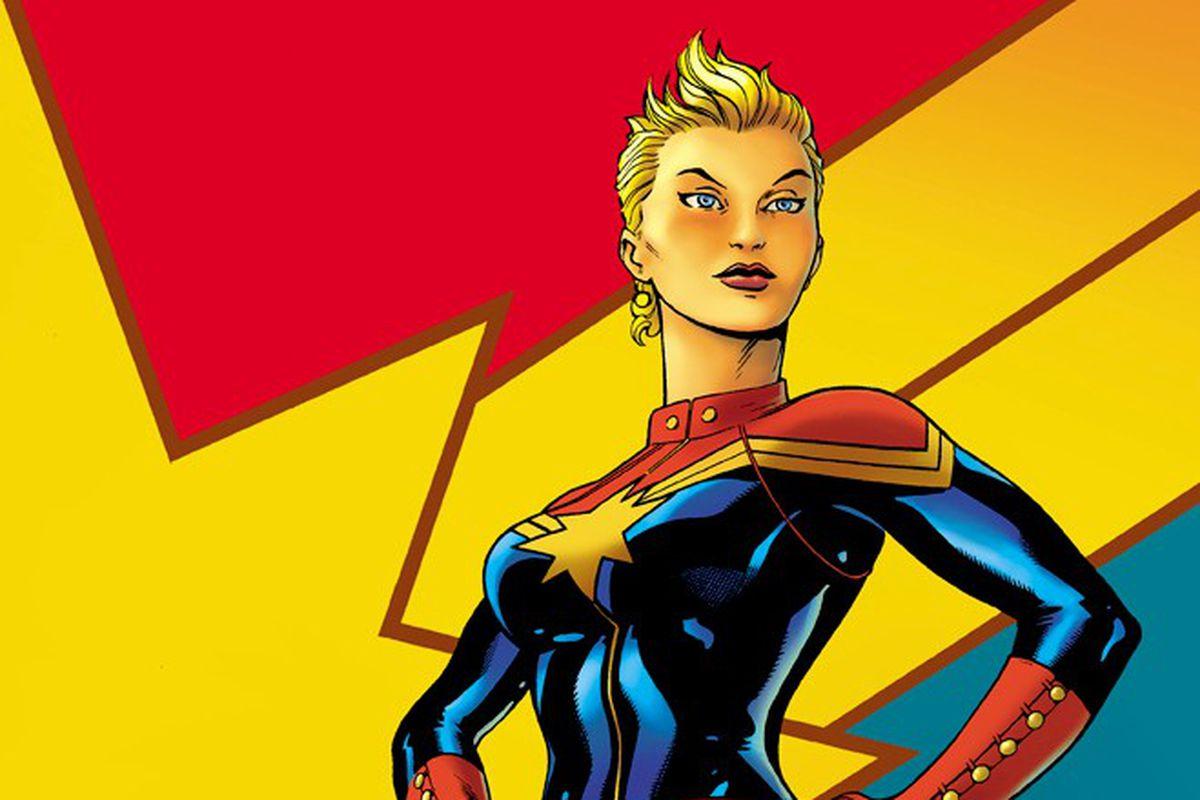 captain marvel a female