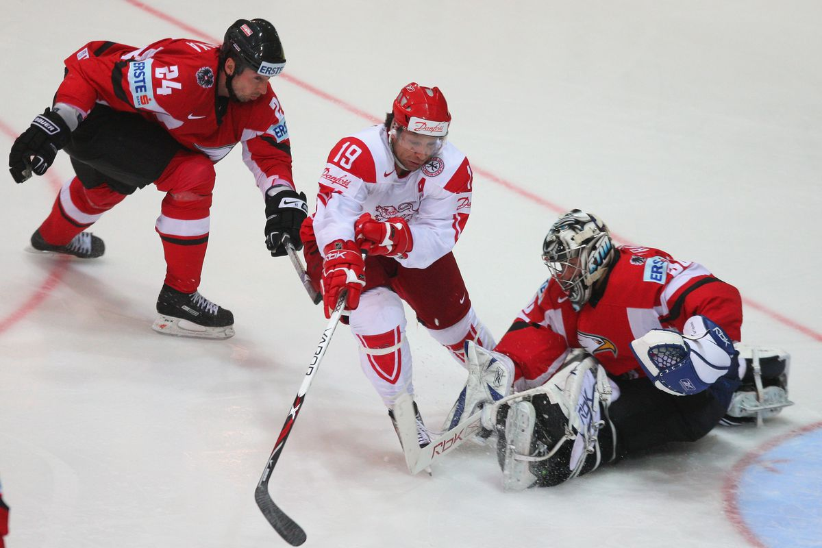 Denmark v Austria - IIHF World Championship