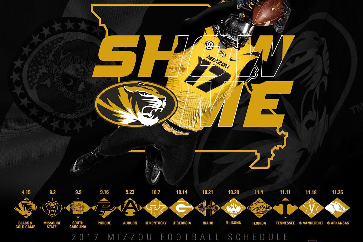 2017 18 College Football Bowl Schedule >> An early look at Mizzou football's 2017 schedule - Rock M Nation