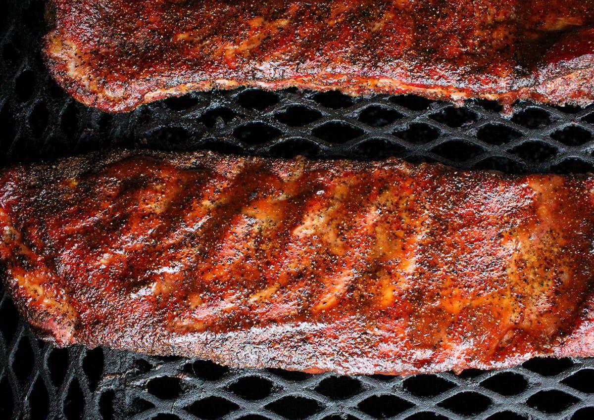 Glazed pork ribs from Alice's