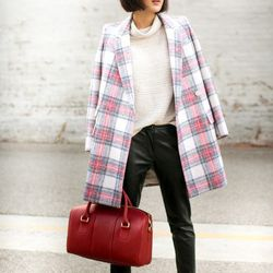 """Chriselle of <a href=""""http://thechrisellefactor.com""""target=""""_blank""""> The Chriselle Factor</a> is wearing a Stella McCartney coat, <a href=""""http://www.revolveclothing.com/DisplayProduct.jsp?product=LOVF-WP14&row=1&column=1&c=&referrerURL=http%3A%2F%2Fww"""