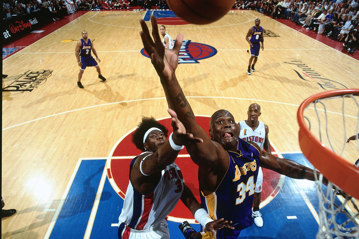 2004 NBA Finals - Game 4: Lakers v Pistons
