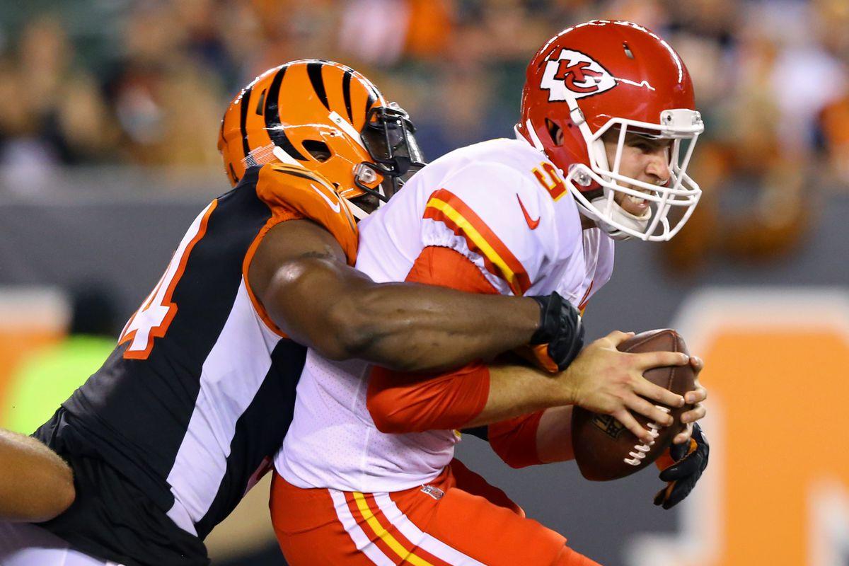 NFL: Kansas City Chiefs at Cincinnati Bengals