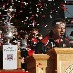 Utah Utes football reigns on parade - Deseret News