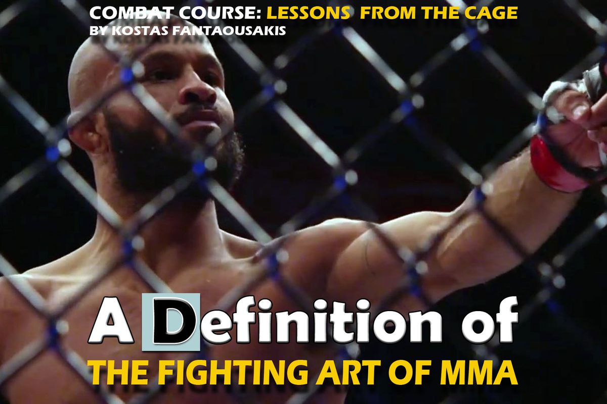 The fighting art of MMA, defined - Bloody Elbow