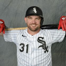 That's more like it ... steal Eloy's batting gloves, make sure you have a fitted helmet ...