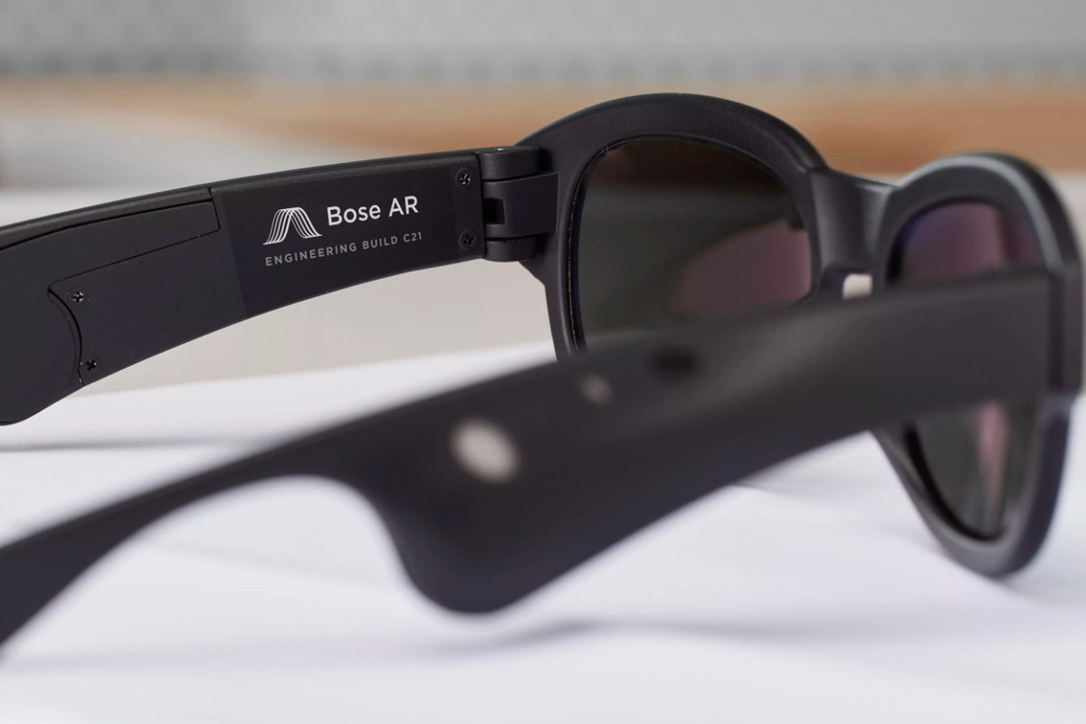dc8bc0bac9 Bose is developing augmented reality glasses with a focus on sound ...