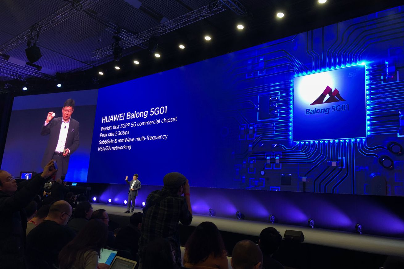 huawei announces its first 5g chip for mobile devices