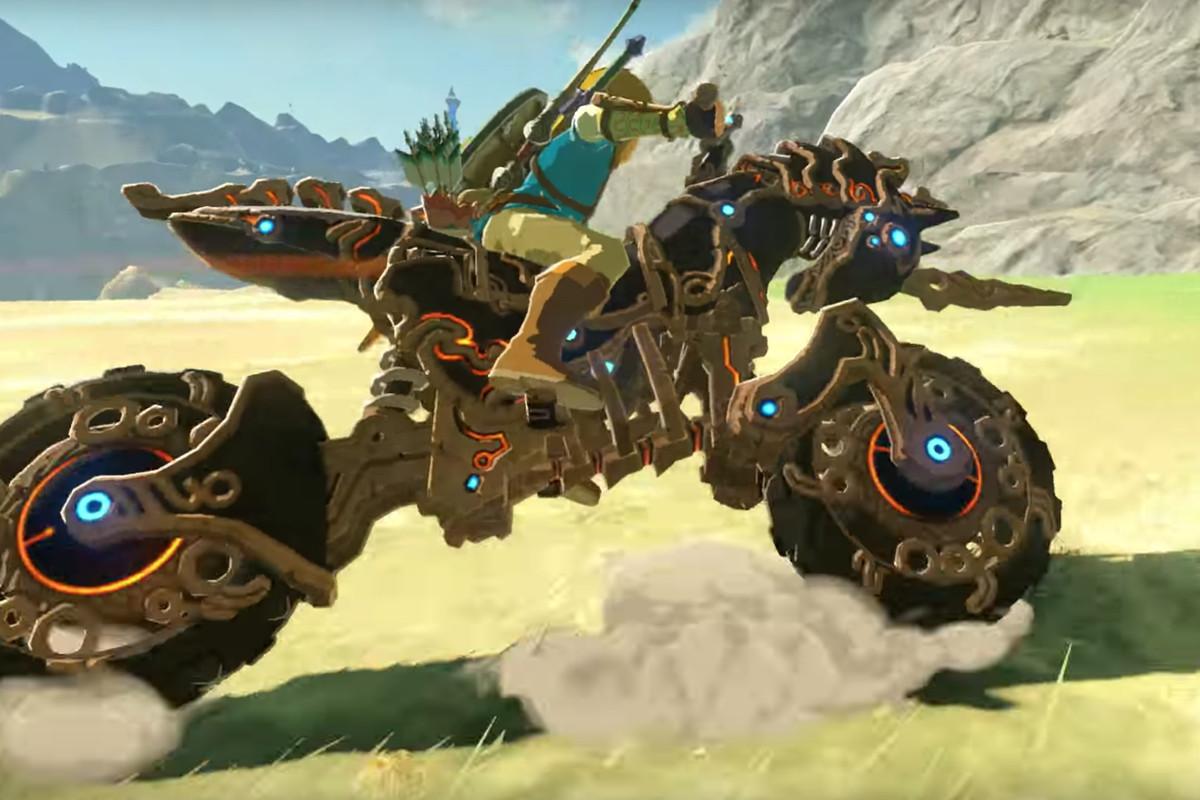Link de Moto - The Legend of Zelda - Breath of the Wild - Champions Ballad