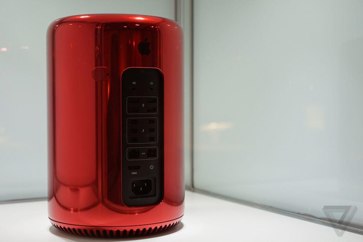 mac pro red