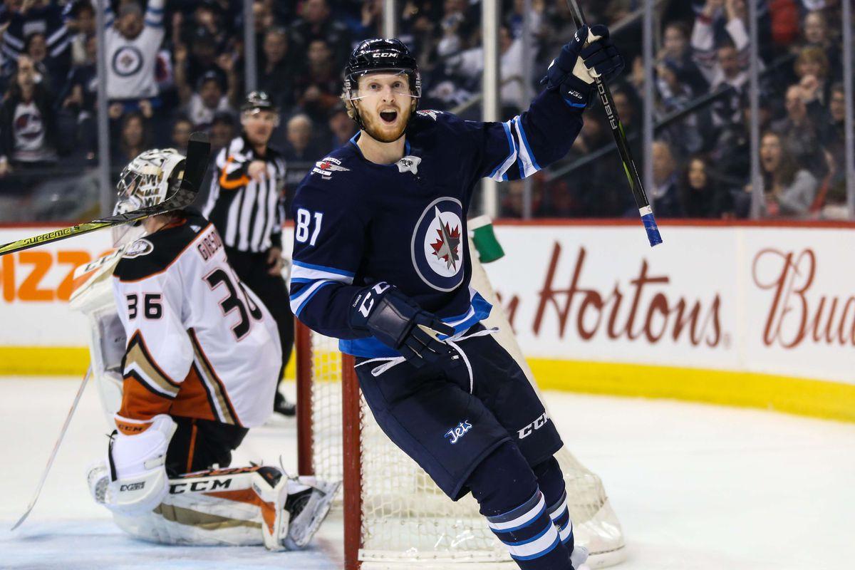 NHL: Anaheim Ducks at Winnipeg Jets