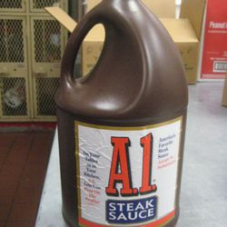 Five Guys goes through one or two of these gallon-size bottles a week.