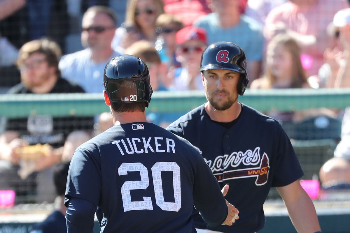 huge sale 72b21 f6758 A small review of Atlanta Braves 2018 Spring Training stats ...