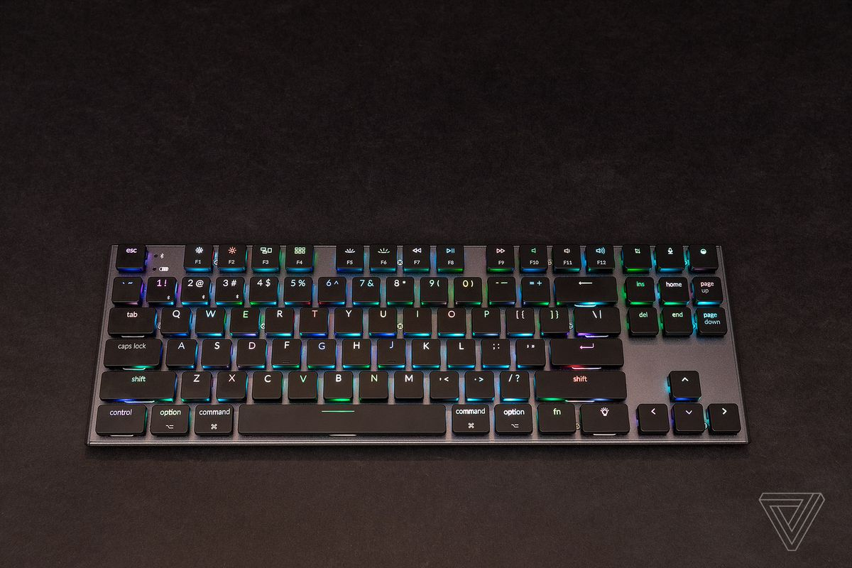 This slim wireless mechanical keyboard for the Mac almost
