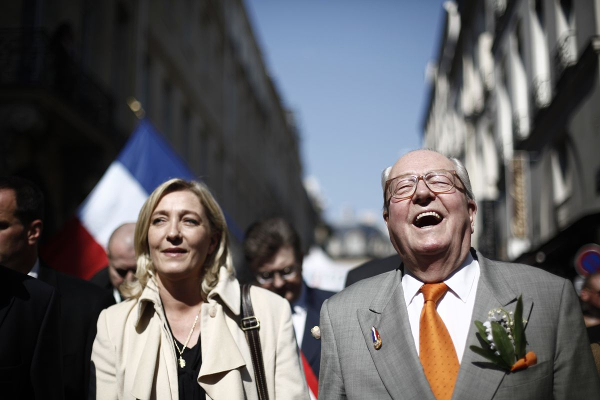 May Day Demonstrations Held In Paris