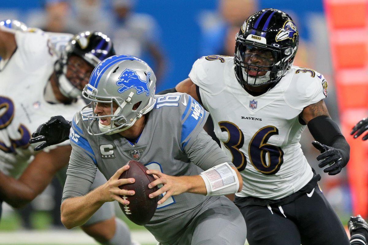 Baltimore Ravens vs Detroit Lions