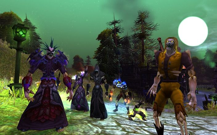 WORLD OF WARCRAFT classic undead grouping up