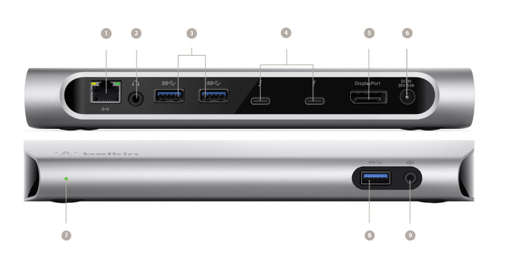 Belkin U0026 39 S Thunderbolt 3 Dock Can Connect Your Pc To 8