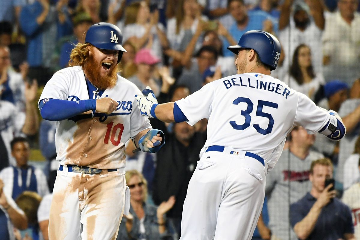 MLB: Minnesota Twins at Los Angeles Dodgers