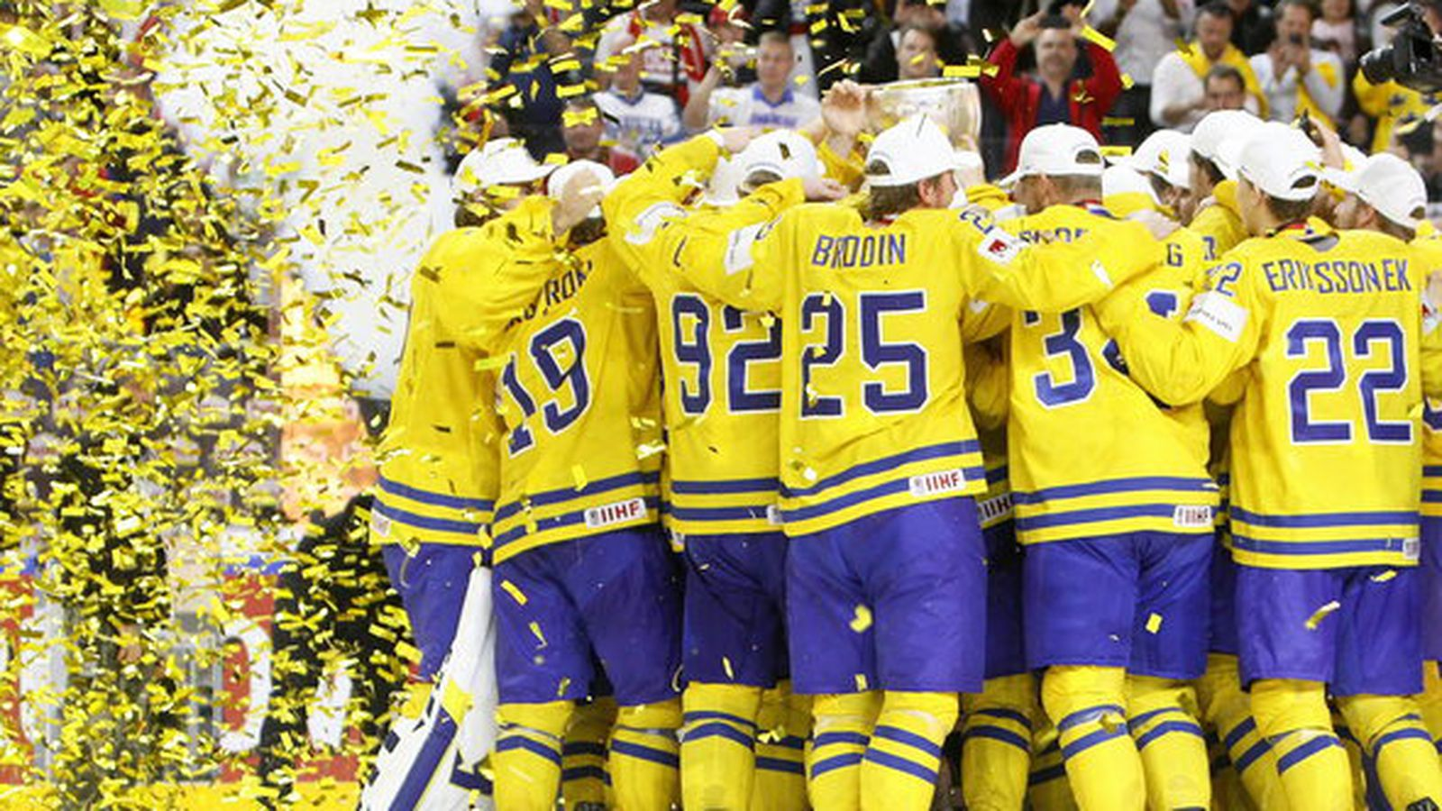 39282020c21 ... Wilds Swedish pair of Eriksson Ek and Brodin take home Gold at the IIHF  Worlds ...