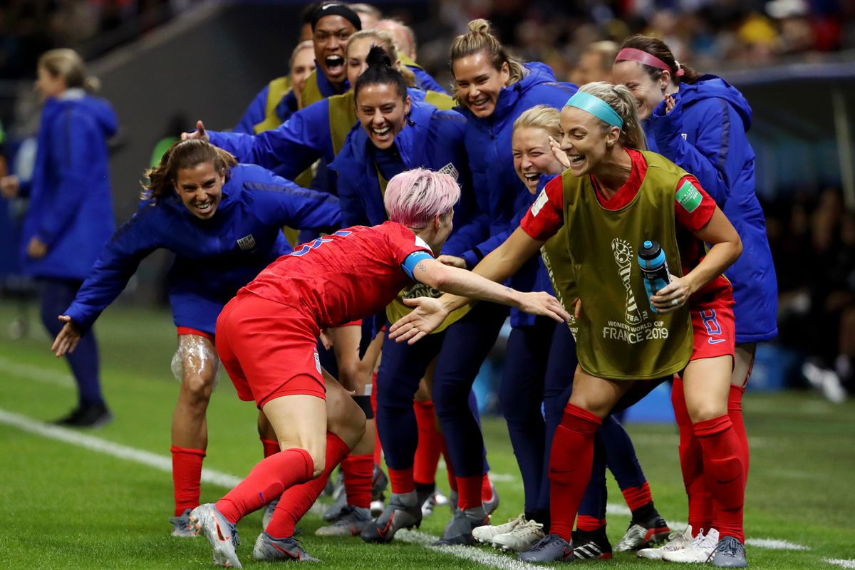 USA v Thailand: Group F - 2019 FIFA Women's World Cup France