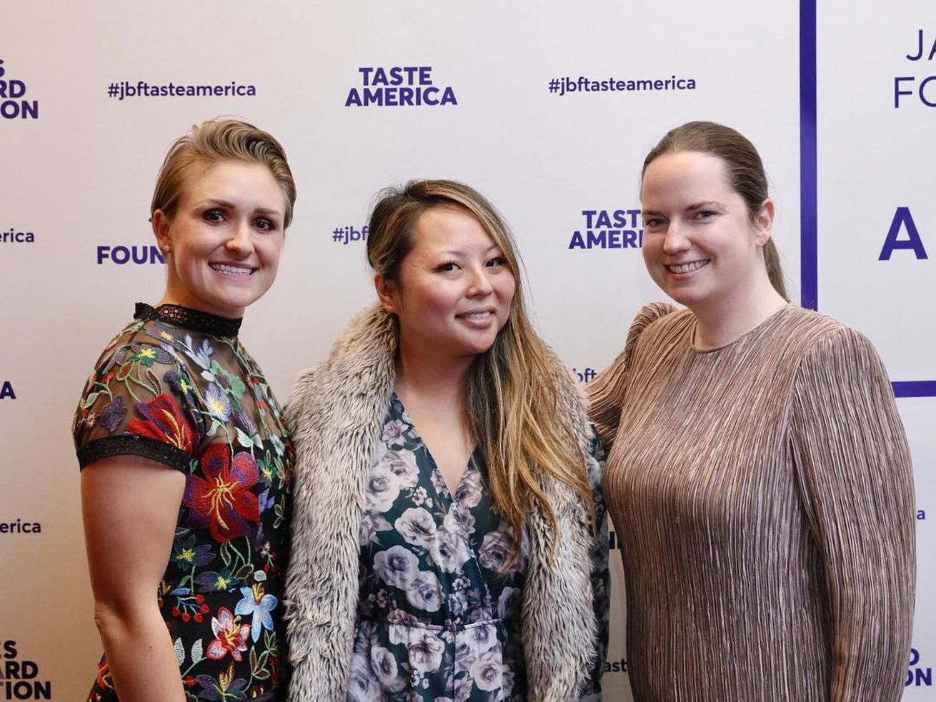 Kaisho GM Morgan Ashely Olszewski, chef Mari Katsumura, and beverage director Olivia Noren at an event last month.