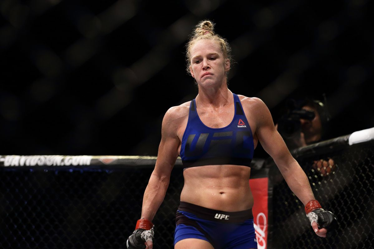 Holly Holm on Floyd Mayweather in the UFC: 'It's a whole ...