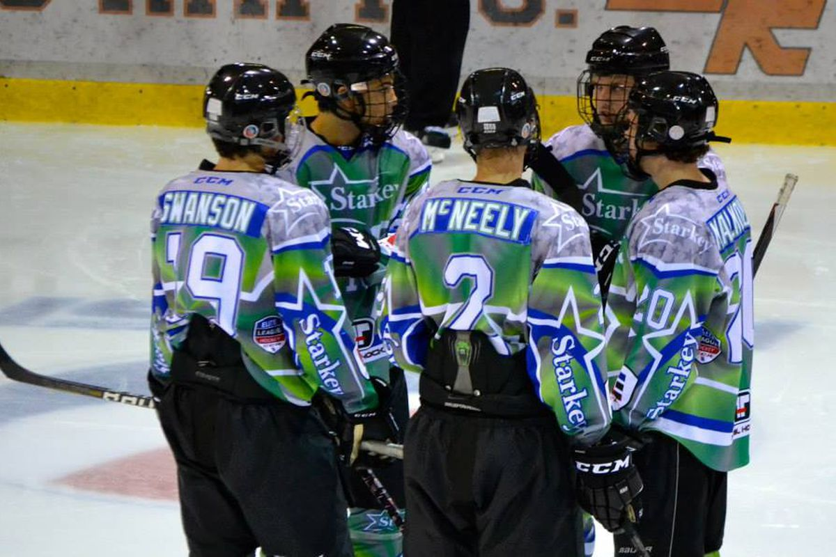 McNeely in this past fall's Upper Midwest Elite League