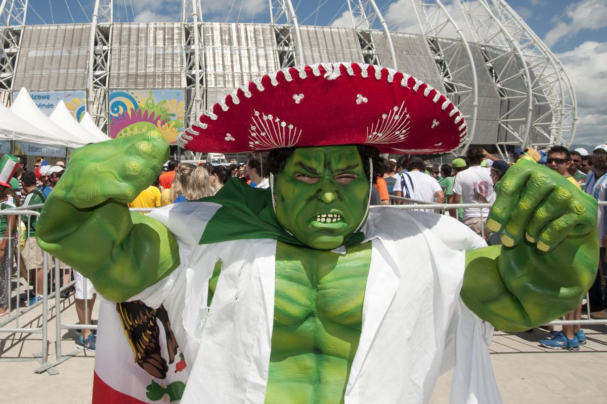 Someone is obviously unware that Hulk plays for Brazil, not Mexico.