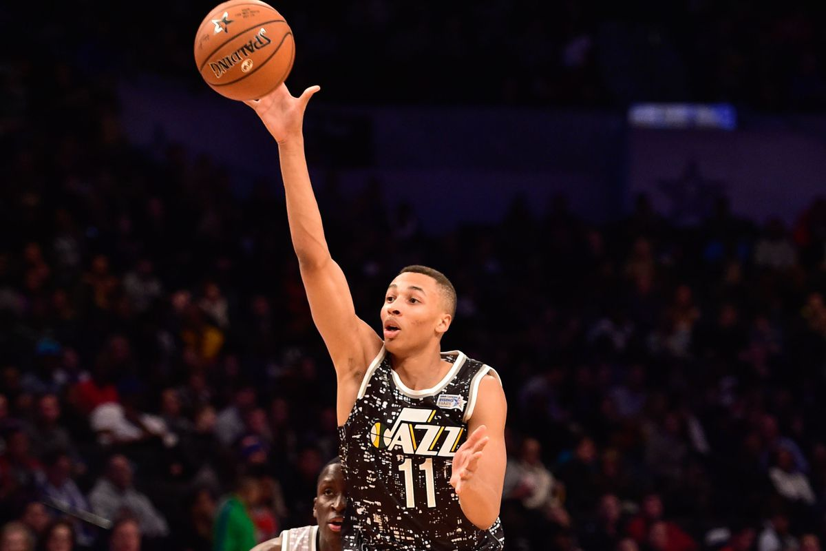 jazz dante exum is espns most promising rookie point