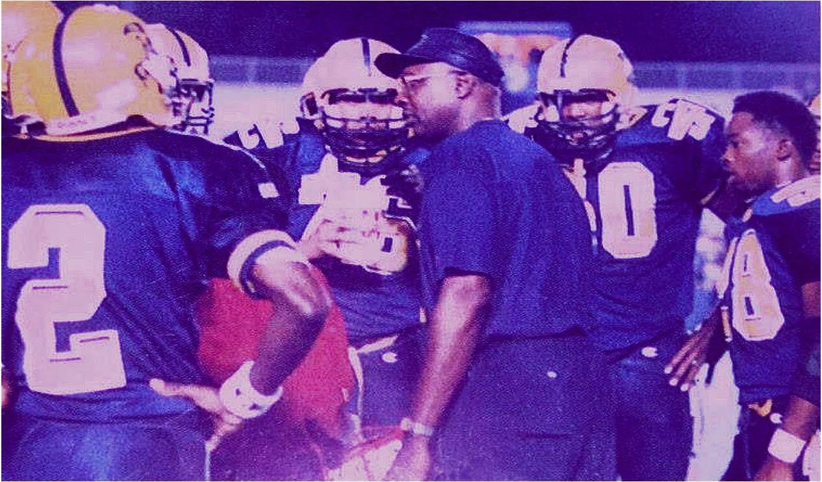 Chuck Chambers, who coached football for 20 years at Vocational, died Monday at age 73. Photo courtesy of Cassius Chambers