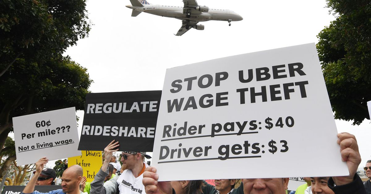 Uber is being sued by NYC drivers for allegedly undercutting their earnings