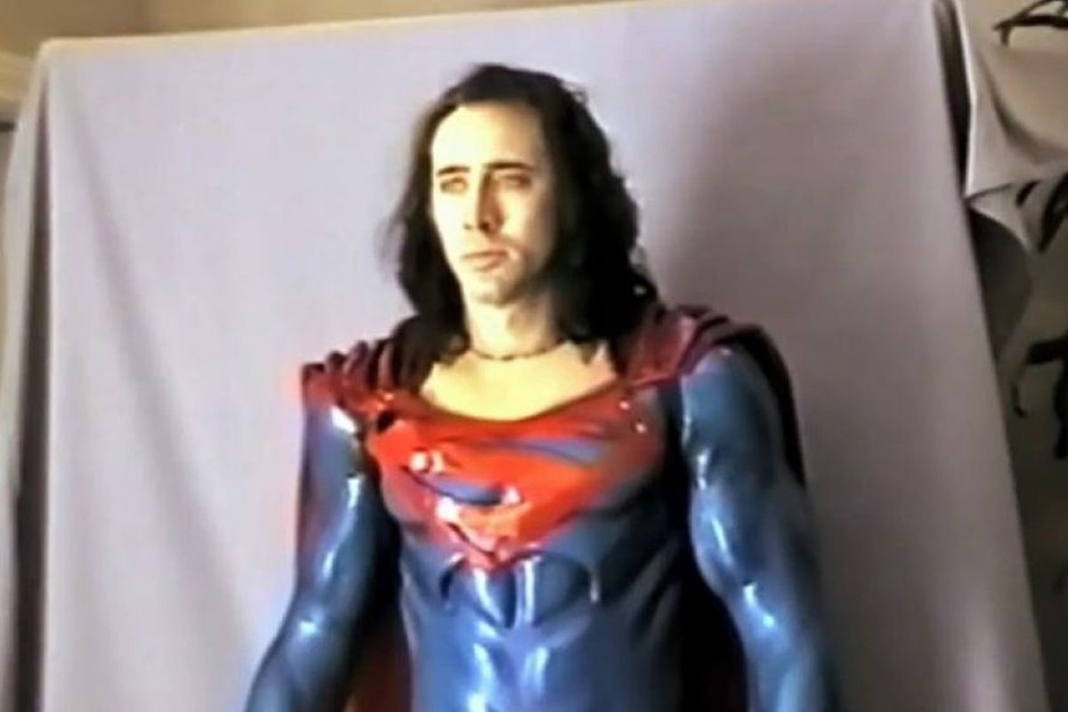 could nicolas cage s failed superman movie actually have been good