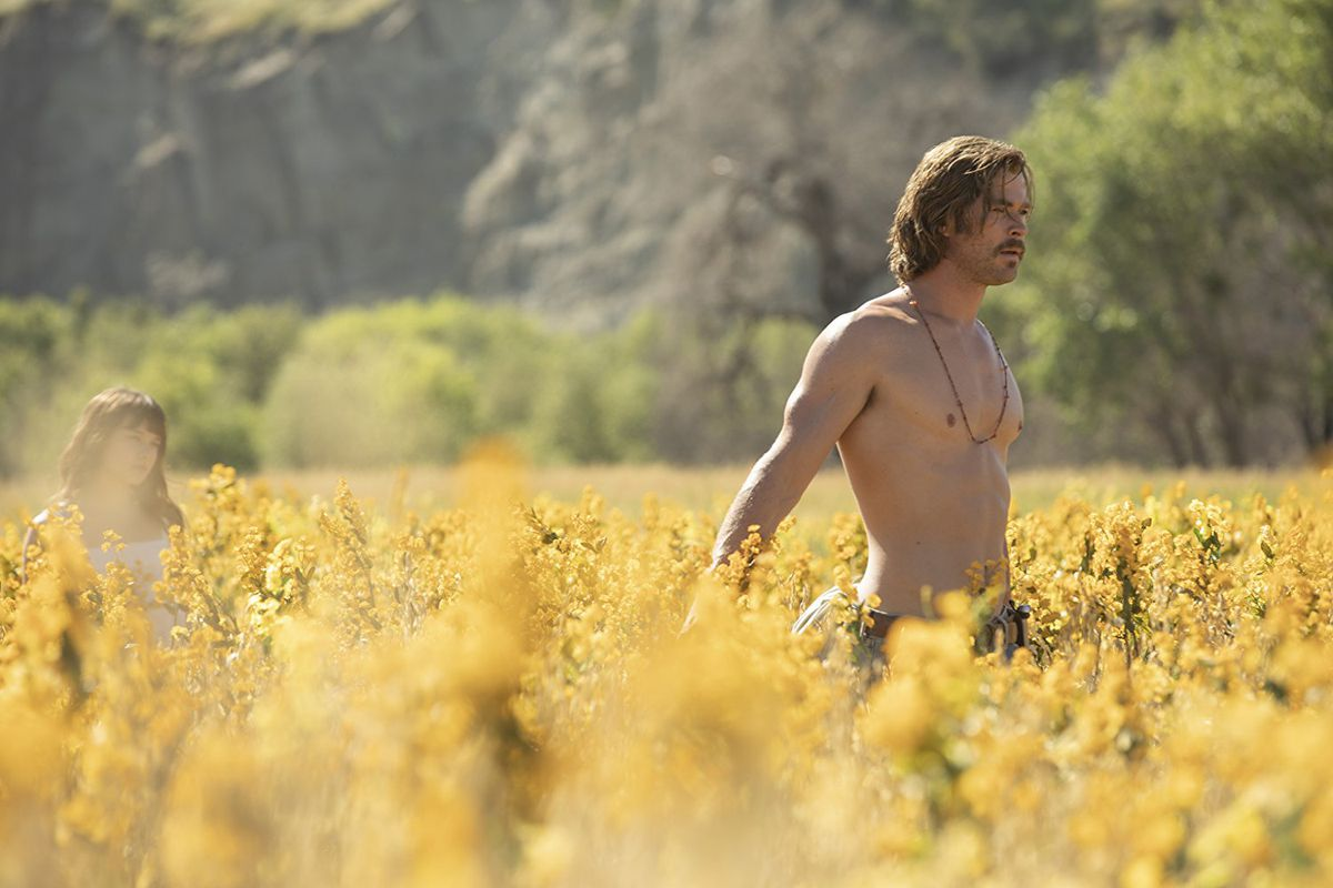 Chris Hemsworth plays a charismatic cult leader in Bad Times at the El Royale.