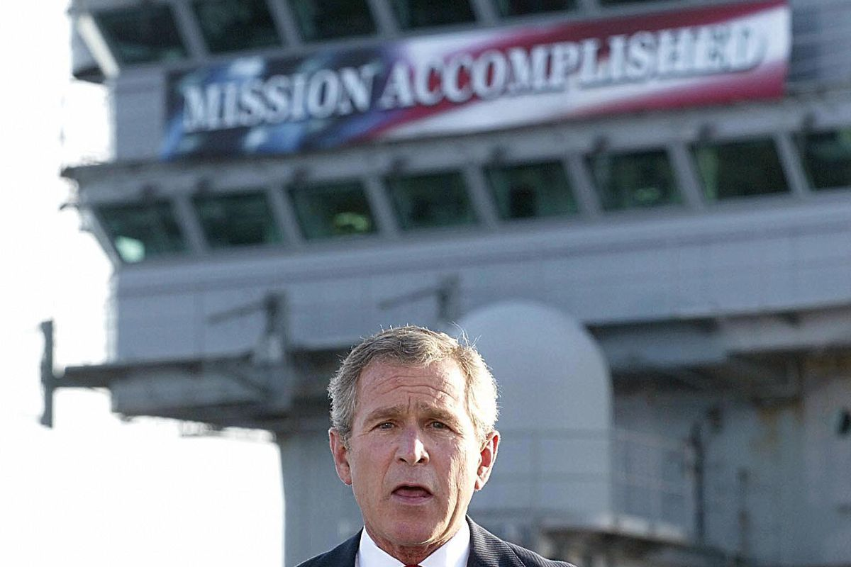 Why Were In Iraq And Why Bush And >> No Really George W Bush Lied About Wmds Vox