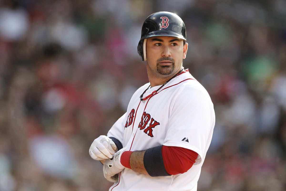 Adrian Gonzalez is on his way to Los Angeles, and is expected to play first base Saturday night.